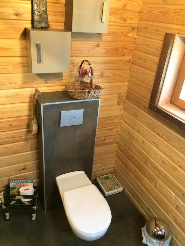 Bati-support WC avec cuvette longue PMR sans bride.